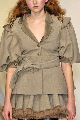Bora Aksu Fall 2007 Ready-to-wear Detail - 003