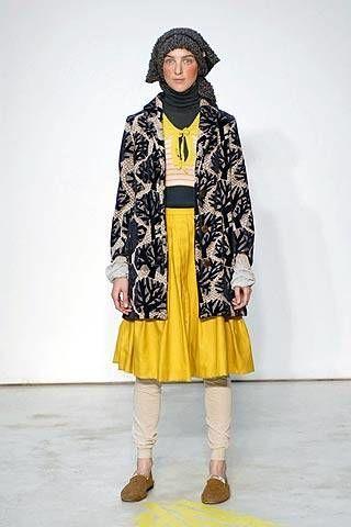 Mina Perhonen Fall 2007 Ready&#45&#x3B;to&#45&#x3B;wear Collections &#45&#x3B; 002