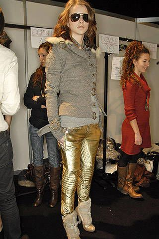 Just Cavalli Fall 2007 Ready-to-wear Backstage - 003
