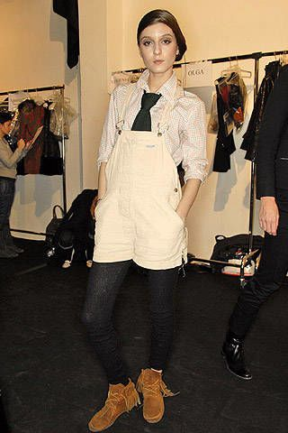 Pollini Fall 2007 Ready-to-wear Backstage - 003