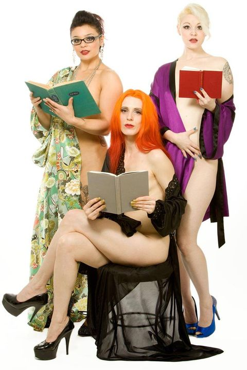 Naked girls not staged Naked Reading Events Naked Girl Readings