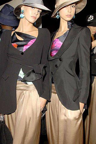 Giorgio Armani Spring 2007 Ready-to-wear Backstage 0001