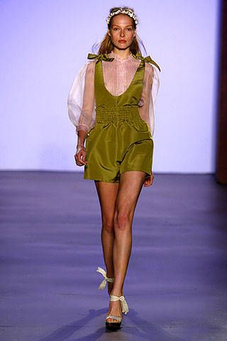 Erin Fetherston Spring 2007 Ready-to-wear Collections 0001