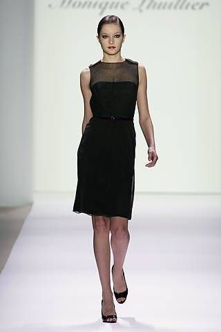 Monique Lhuillier Spring 2007 Ready-to-wear Collections 0001