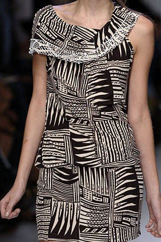 Pollini by Rifat Ozbek Spring 2007 Ready-to-wear Detail 0001