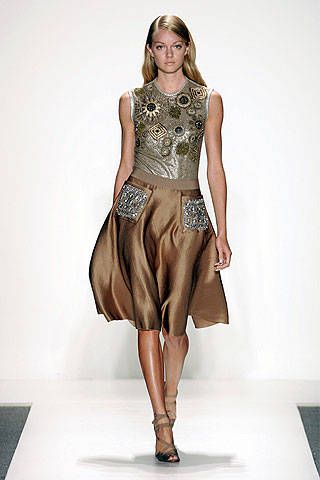 Reem Acra Spring 2007 Ready-to-wear Collections 0001