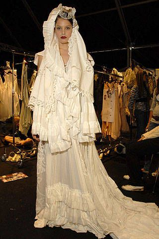 Antonio Marras Spring 2007 Ready-to-wear Backstage 0001