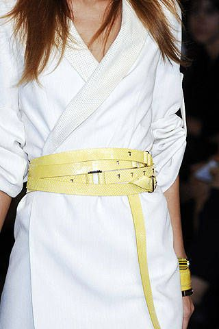 Trussardi Spring 2007 Ready-to-wear Detail 0001
