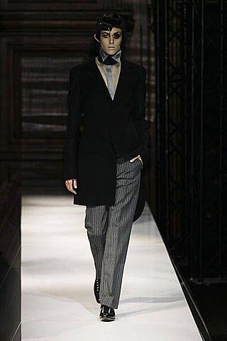 Yohji Yamamoto Spring 2007 Ready-to-wear Collections 0001