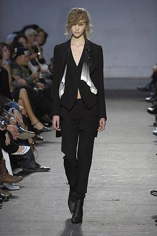 Ann Demeulemeester Spring 2007 Ready-to-wear Collections 0001