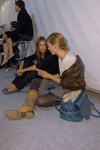 Isabel Marant Spring 2007 Ready-to-wear Backstage 0001