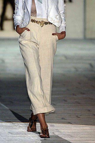 Roberto Cavalli Spring 2007 Ready-to-wear Detail 0001