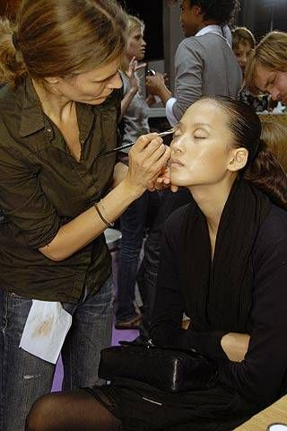Cacharel Spring 2007 Ready-to-wear Backstage 0001