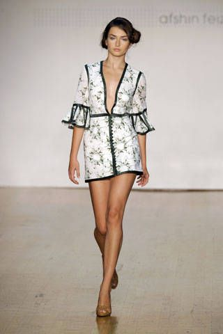 Afshin Feiz Spring 2007 Ready-to-wear Collections 0001