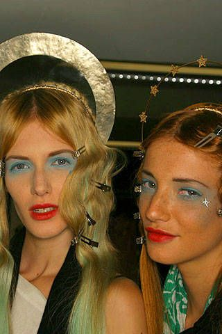 Jean Paul Gaultier Spring 2007 Haute Couture Backstage &#45&#x3B; 001