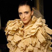 Maurizio Galante Spring 2007 Haute Couture Backstage - 001