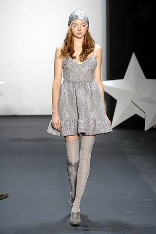 Erin Fetherston Fall 2007 Ready&#45&#x3B;to&#45&#x3B;wear Collections &#45&#x3B; 001