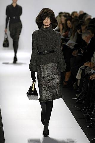 Oscar de la Renta Fall 2007 Ready-to-wear Collections - 001