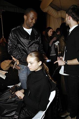 Matthew Williamson Fall 2007 Ready-to-wear Backstage - 001