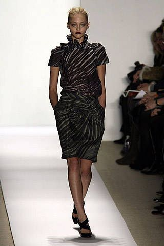 Peter Som Fall 2007 Ready&#45&#x3B;to&#45&#x3B;wear Collections &#45&#x3B; 001