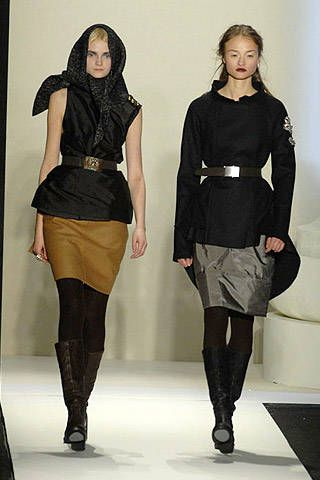 Vera Wang Fall 2007 Ready-to-wear Collections - 001