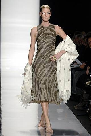 Chado Ralph Rucci Fall 2007 Ready-to-wear Collections - 001