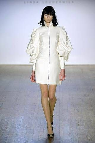 Linda Loudermilk Fall 2007 Ready&#45&#x3B;to&#45&#x3B;wear Collections &#45&#x3B; 001