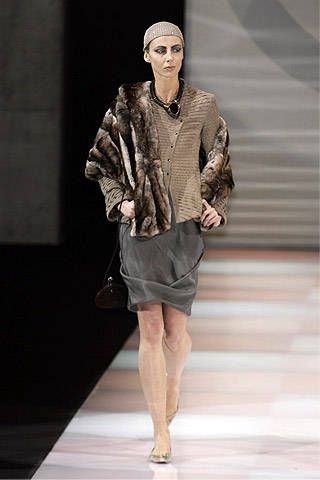 Giorgio Armani Fall 2007 Ready-to-wear Collections - 001