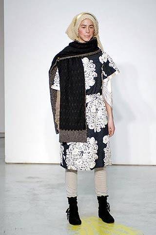 Mina Perhonen Fall 2007 Ready&#45&#x3B;to&#45&#x3B;wear Collections &#45&#x3B; 001