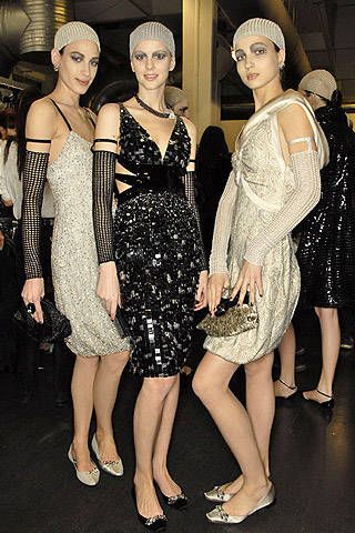 Giorgio Armani Fall 2007 Ready-to-wear Backstage - 001
