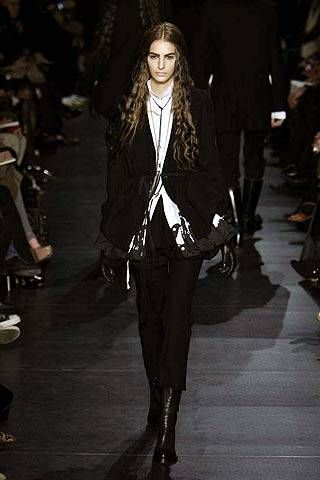 Ann Demeulemeester Fall 2007 Ready-to-wear Collections - 001