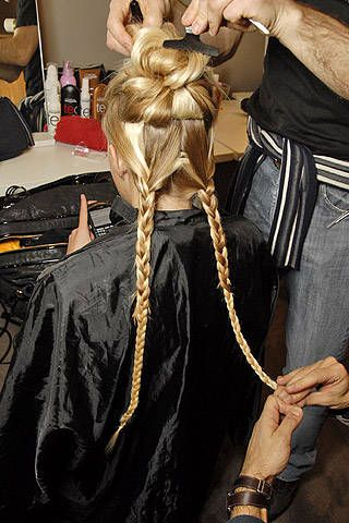 Bottega Veneta Fall 2007 Ready-to-wear Backstage - 001