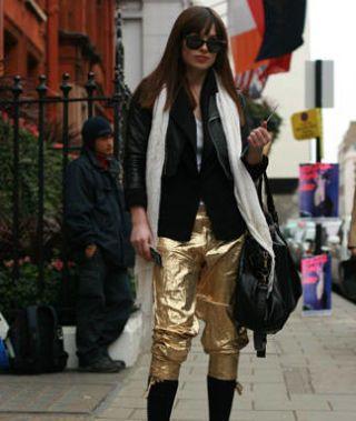 London fashion week street chic, fashion
