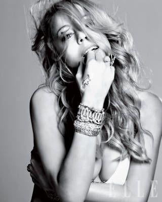 Mariah Carey ELLE Covershoot