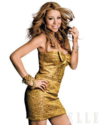 Mariah Carey ELLE Cover Shoot