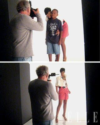 Rihanna ELLE Covershoot