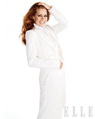 Amy Adams ELLE Covershoot