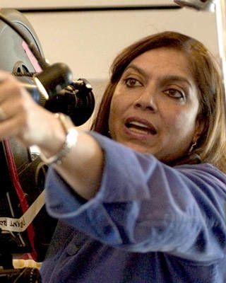 Mira Nair directing The Namesake