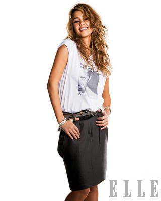 Jessica Alba ELLE Cover Shoot