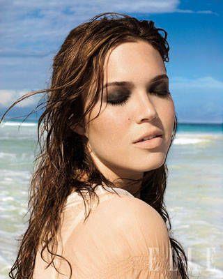 Mandy Moore ELLE Covershoot