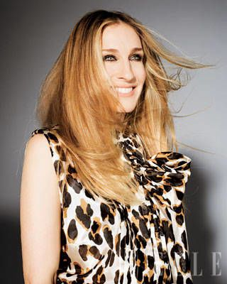 Sarah Jessica Parker ELLE Covershoot