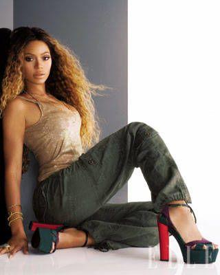 Beyonce ELLE Covershoot