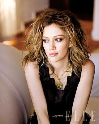 Hilary Duff ELLE Covershoot