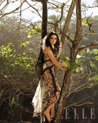Evangeline Lilly ELLE Covershoot