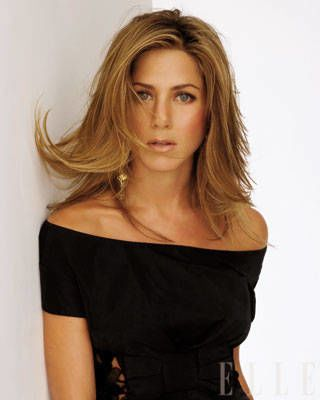 Jennifer Aniston ELLE Covershoot