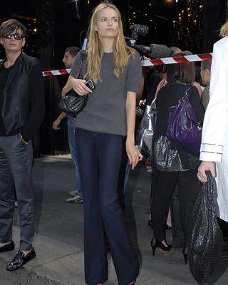 Models off duty street chic, fashion