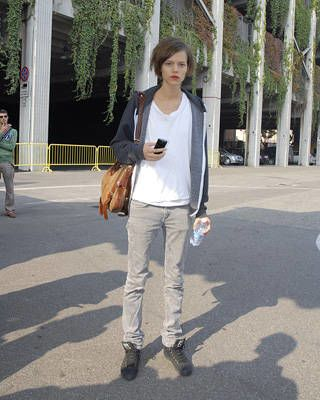 Freja Beha Erichsen, Models off duty street chic, fashion