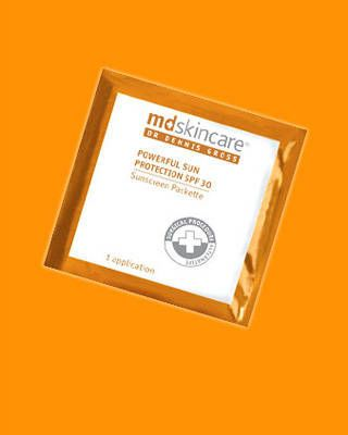 MD Skincare Powerful Sun Protection SPF 30 Packettes