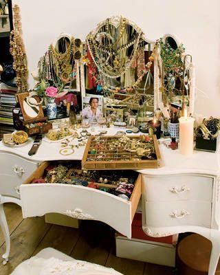 Temperley's jewel-filled vanity