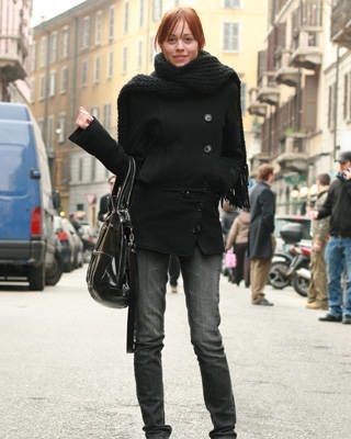 Milan fashion week street chic, fashion